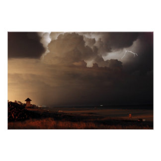 Delray Beach Lightning print