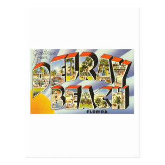 Delray Beach Postcard