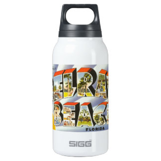 Delray Beach 10 Oz Insulated SIGG Thermos Water Bottle