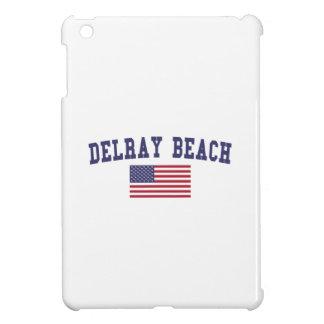 Delray Beach US Flag iPad Mini Cases