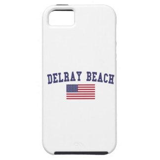 Delray Beach US Flag iPhone SE/5/5s Case