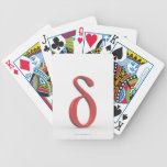 Delta 2 bicycle playing cards