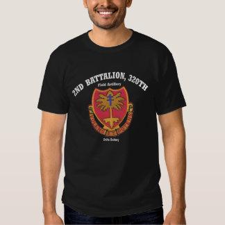 Delta 2nd.320th Tee-Shirt (Dark Colors) Shirt
