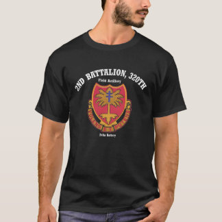 Delta 2nd.320th Tee-Shirt (Dark Colors) T-Shirt