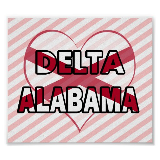 Delta, Alabama Póster