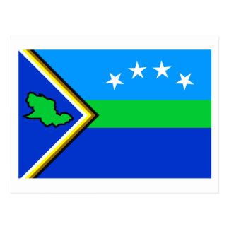 Delta Amacuro Flag Postcard