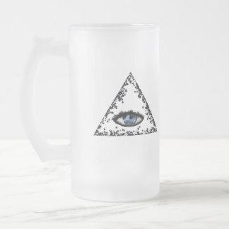 Delta azul, letra de G Taza De Cristal