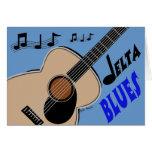 Delta Blues Card