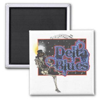Delta Blues Fridge Magnet