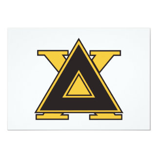 Delta Chi Badge Gold Card