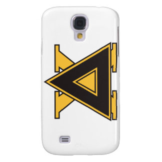 Delta Chi Badge Gold Galaxy S4 Cases