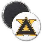 Delta Chi Badge Gold Magnet