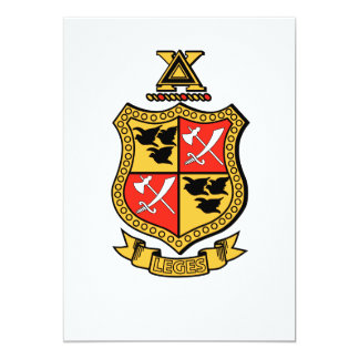 Delta Chi Coat of Arms Card