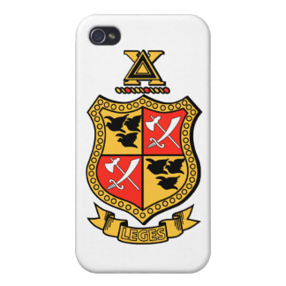 Delta Chi Coat of Arms Covers For iPhone 4
