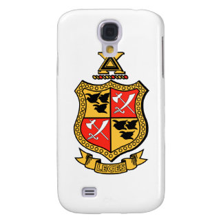 Delta Chi Coat of Arms Galaxy S4 Covers