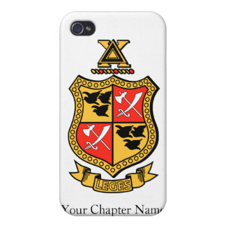 Delta Chi Coat of Arms iPhone 4 Case