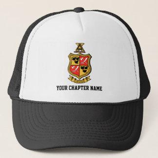Delta Chi Coat of Arms Trucker Hat