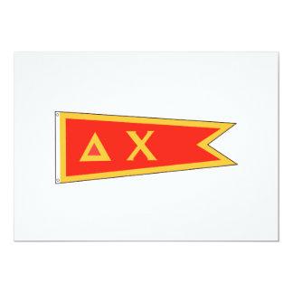 Delta Chi Flag Card