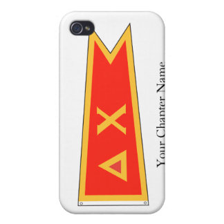 Delta Chi Flag Covers For iPhone 4