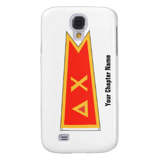 Delta Chi Flag Samsung Galaxy S4 Covers