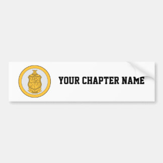 Delta Chi Life Loyalty Bumper Sticker