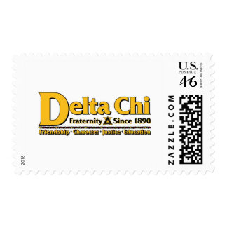 Delta Chi Name and Logo Gold Stamps