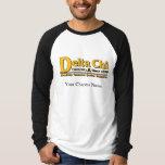 Delta Chi Name and Logo Gold T-Shirt