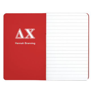 Delta Chi White and Red Letters Journals