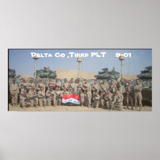Delta Co, tercer PLT    9-01 Poster