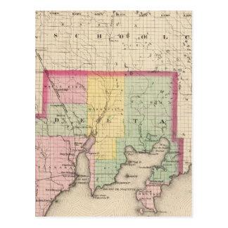 Delta County Michigan Postcard