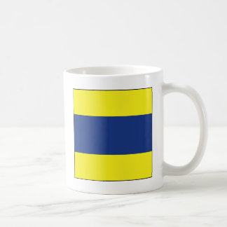 Delta (D) Signal Flag Coffee Mug