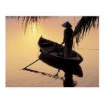 Delta de Asia, Vietnam, el Mekong, Can Tho. Postales