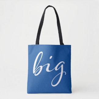 Delta Delta Delta   Big Script Tote Bag