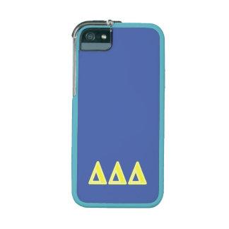 Delta Delta Delta Yellow Letters iPhone 5/5S Cover