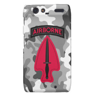 Delta Force - ARMY SPECIAL OPERATIONS COMMAND Droid RAZR Covers