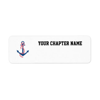 Delta Gamma Anchor Label