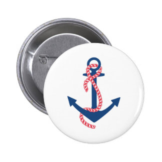 Delta Gamma Anchor Pinback Button