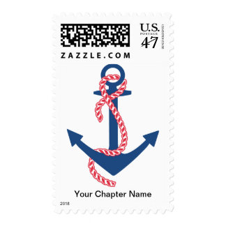 Delta Gamma Anchor Postage