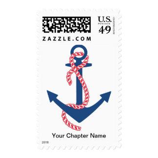 Delta Gamma Anchor Postage Stamp