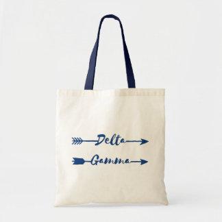 Delta Gamma   Arrow Tote Bag