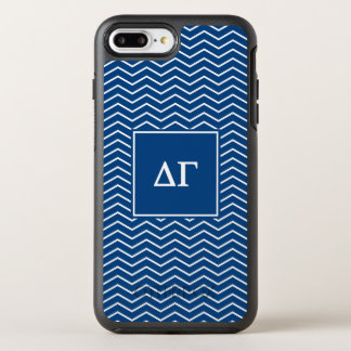 Delta Gamma | Chevron Patter OtterBox Symmetry iPhone 8 Plus/7 Plus Case