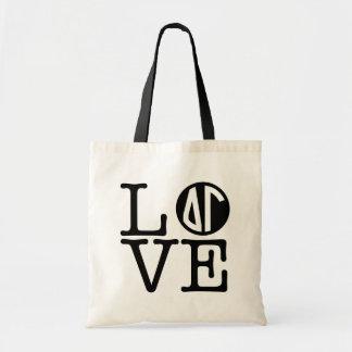 Delta Gamma   Love Tote Bag