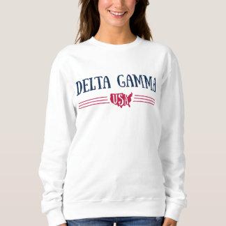 Delta Gamma   USA Sweatshirt
