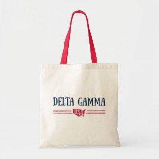 Delta Gamma   USA Tote Bag
