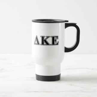 Delta Kappa Epsilon Black Letters Coffee Mug
