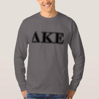 Delta Kappa Epsilon Black Letters T-Shirt