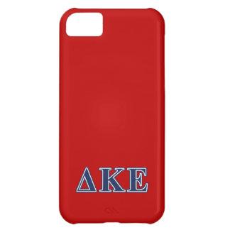 Delta Kappa Epsilon Blue Letters iPhone 5C Cover