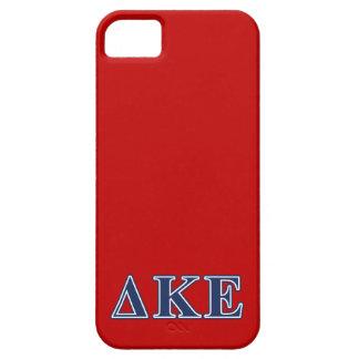 Delta Kappa Epsilon Blue Letters iPhone SE/5/5s Case