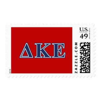 Delta Kappa Epsilon Blue Letters Postage