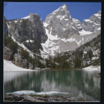 "Delta Lake Grand Teton National Park Napkin<br><div class=""desc"">This image is of Delta Lake at the base of the Grand Teton in Grand Teton National Park. Grand Teton National Park is located in Northwest Wyoming,  just south of Yellowstone. Check out my other products!</div>"